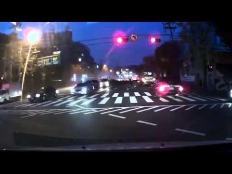 Падение крана на автодорогу