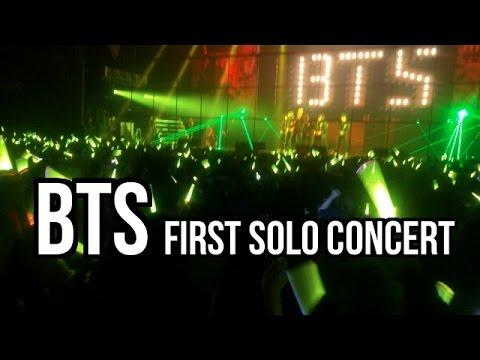 KOREA VLOG   BTS Concert! (their very first solo concert ...
