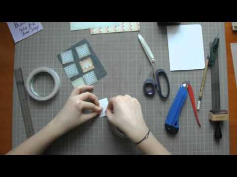 Мастер класс по изготовлению открыток видео