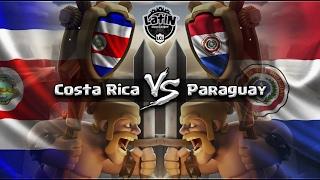 ¡COSTA RICA vs PARAGUAY! | LATIN CLASH LEAGUE - GRUPO A | FASE DE GRUPOS