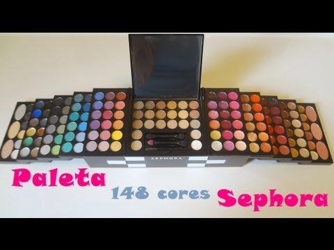 Ganhei: Paleta 148 Cores - Sephora