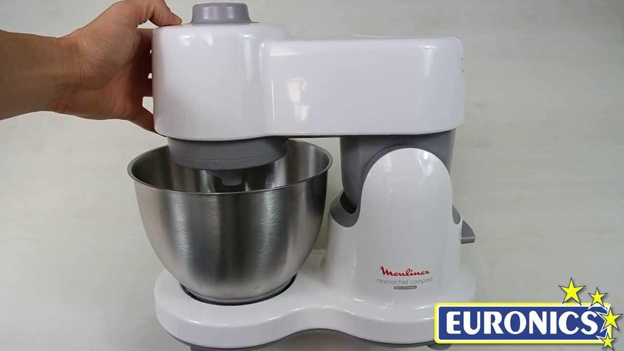 Moulinex robot da cucina masterchef compact qa2051 youtube - Robot da cucina moulinex ...
