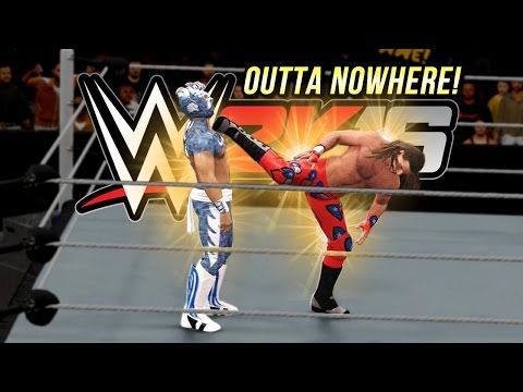 WWE 2K16 Fury : Super Kick Outta Nowhere!