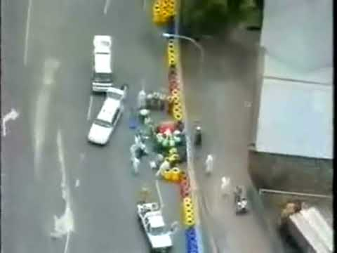 CRASH Multi angle -Mika Hakkinen Adelaide 95.