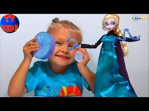 ✔ Кукла Эльза Холодное сердце в Новом Наборе от девочки Ярославы / Frozen Disney Elsa Princess ✔