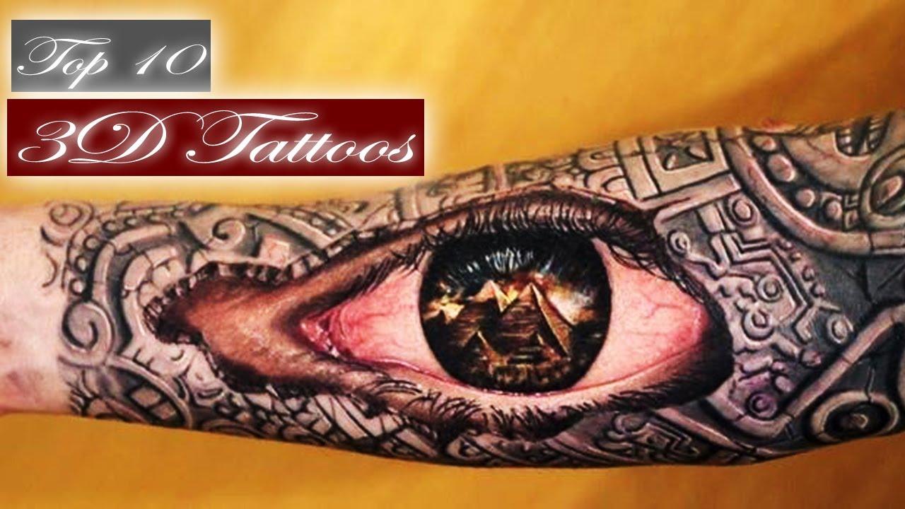 Besten 3D Tattoos - di...