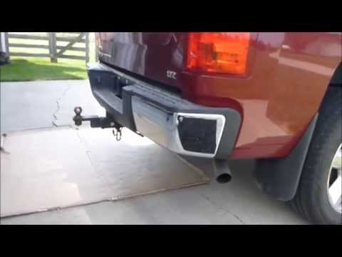 How to remove and install 07-13 Chevrolet Silverado OEM Rear Bumper Ends