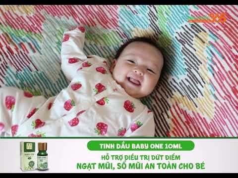 Tinh dầu Baby one 10ml - Hỗ trợ điều trị dứt điểm ngạt mũi, sổ mũi an toàn cho bé