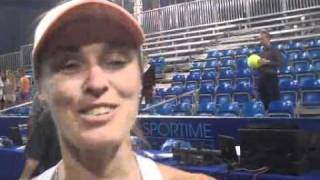Interview Martina Hingis - New York Sportimes - July 6, 2011