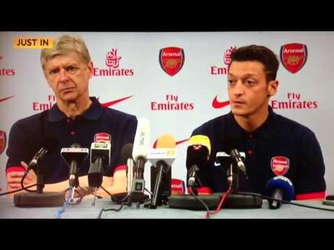 Mesut Ozil Press Conference