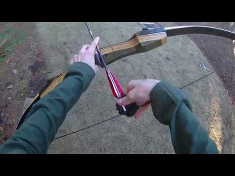 Review: 35# Samick Sage Take-Down Recurve Bow (Great first bow!)