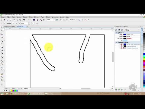 Curso Corel Draw X7 - Ferramentas de Cortar Cap 15