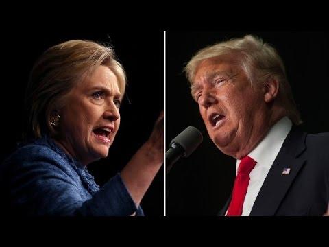 Clinton, Trump display stark contrasts on guns