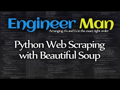 Python Web Scraping with Beautiful Soup and Regex