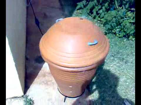Clay pots meat smoker youtube
