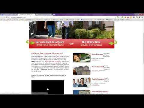 EZ Auto Insurance Quotes Online