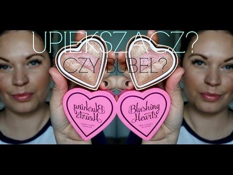 UPIĘKSZACZ CZY BUBEL? I ♥ MAKEUP BLUSHING HEARTS