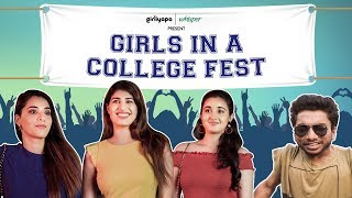 Girls in a College Fest feat. Shreya Mehta, Revathi Pillai & Chote Miyan