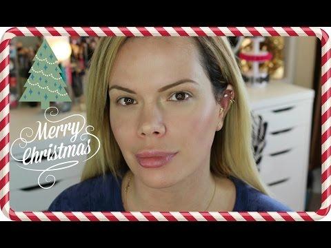 My Christmas Morning Minimal Makeup Look