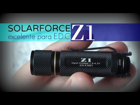 airsoftpeak.com - Lanterna SolarForce Z1 - Review