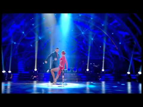 Holly Valance and Artem Chigvintsev dancing the Argentine Tango