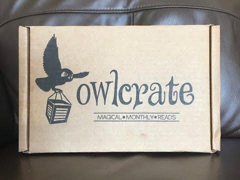 Owlcrate Unboxing - April 2017
