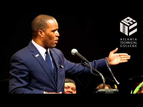 Atlanta Technical College 2014 Commencement Exercise Feat. John Hope Bryant