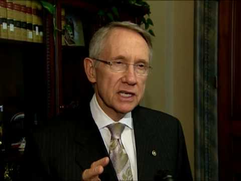 Reid Discusses the Increase in Nevadas Unemployment Rate