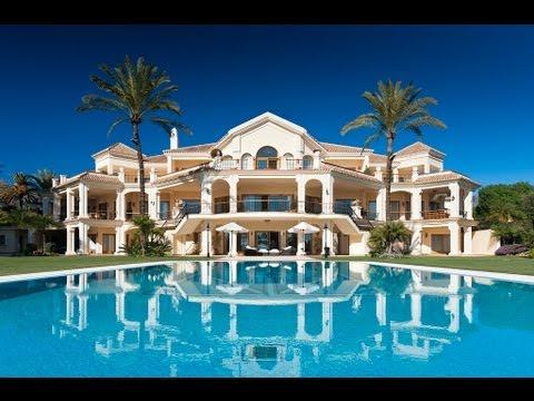 Frontline beach luxury mansion in the Marbella Club ...