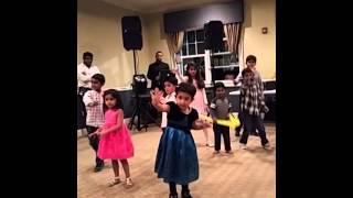 Maanya performing at fairways diwali party