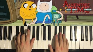 HOW TO PLAY - Adventure Time - Come Along With Me (Piano Tutorial Lesson)