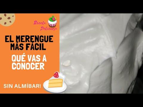 Como hacer Merengue Fácil para Tortas de RecetaDeliciosa.com.ar