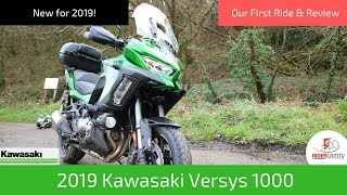2019 Kawasaki Versys 1000 | Our First Look & Review