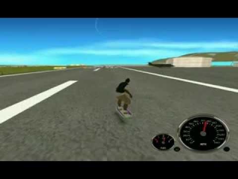 GTA SA Hover Board Mod [TEST]