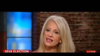 Kellyanne Conway snaps at CNN host Alisyn Camerota