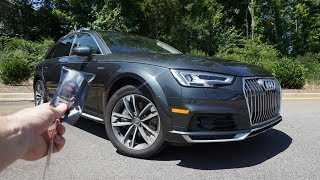 2018 Audi A4 Allroad Prestige: Start Up, Test Drive, Walkaround and Review