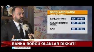 Avukat Cevat Kazma, bankaya borcu olanlara uyarılarda bulunuyor.