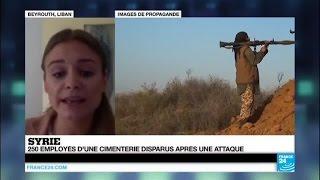 Syrie : attaque du groupe islamique contre une ville au sud de Damas, 250 personnes disparues