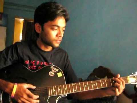 Sochta Hu Uska Dil On Guitar video