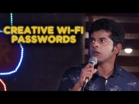 Creative Wifi Passwords - Naveen Richard   Stand Up Comedy thumbnail