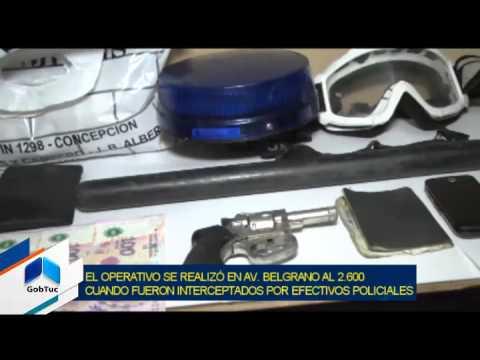 Fueron detenidas personas que estarían vinculadas a un robo calificado - Tucumán