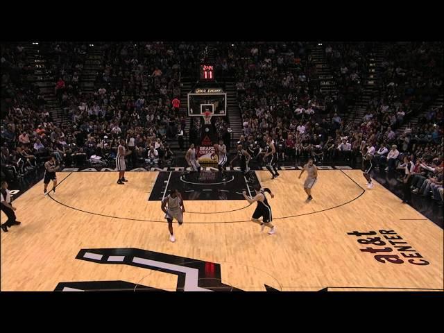 Duncan Throws Full Court Touchdown Pass