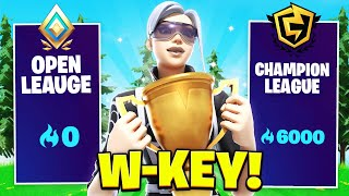 How I W-Keyed All The Way To Champion Divison Fortnite  Chapter 2 Season 3