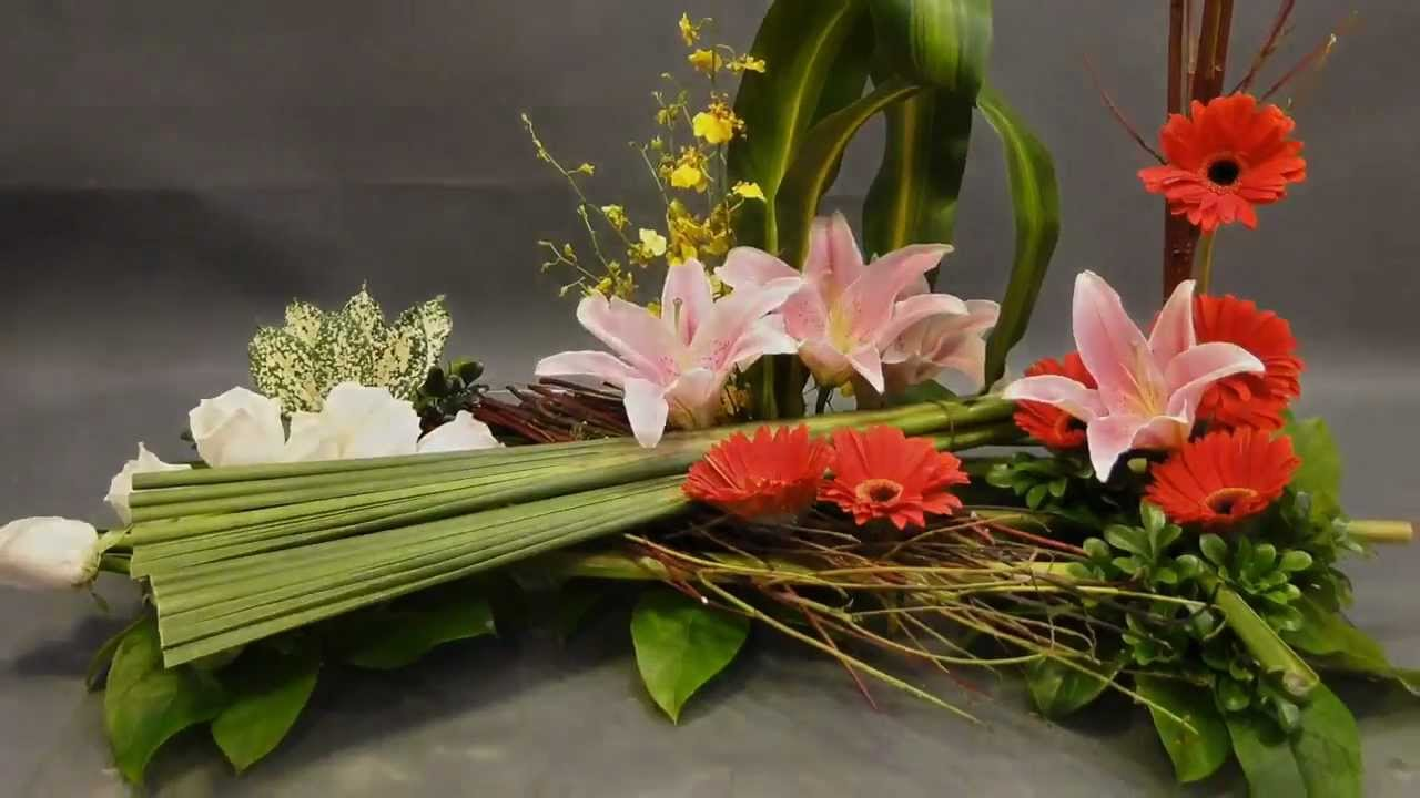 floral design by gordon lee flower arrangement youtube