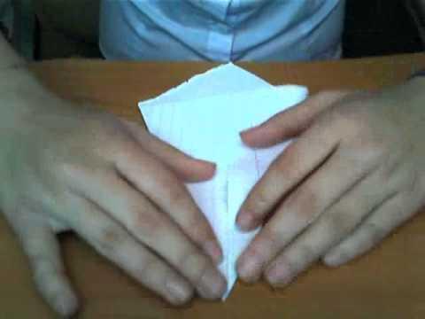 Как из бумаги сделать укол