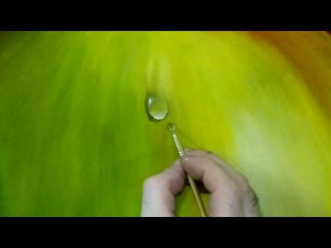 Como hacer gotas al oleo (Cristhian Toledo)