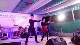 Bd institute of glass and ceramic , rag day 2017 , girl friend boy friend song with dance