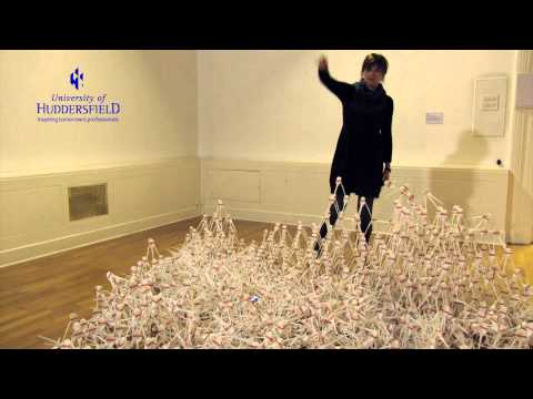 Dr Townsley talks about her exhibition 'Sisyphus' - Installation Four/University of Huddersfield