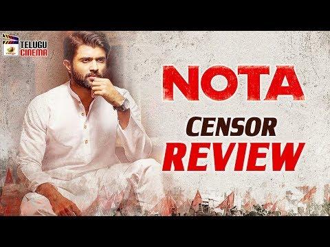 NOTA Movie Censor REVIEW | Vijay Devarakonda | Mehreen Kaur | Anand Shankar | Mango Telugu Cinema