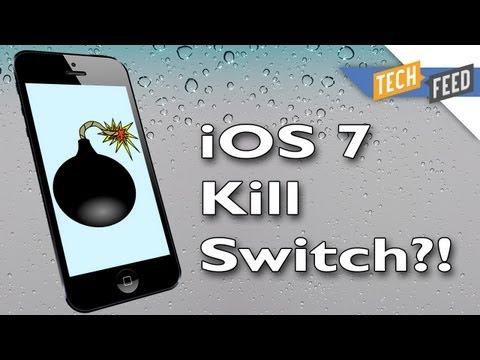 iOS 7 KILL SWITCH Prevents iPhone Theft